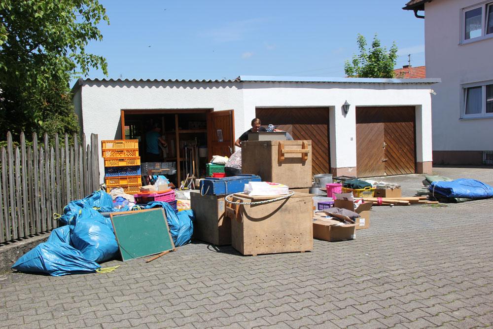 Garage aufräumen 2016